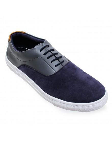 Sepatu Sneakers Azure - Navy Grey