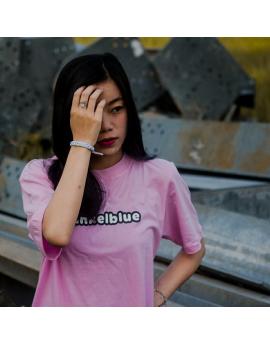 Dummed DunkelBlue - Pink