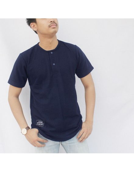Kaos Street Wear Cut Artnomali - Navy