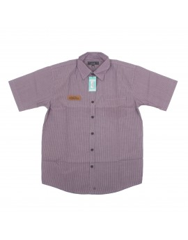 Purple Line Short Sleeve Shirt