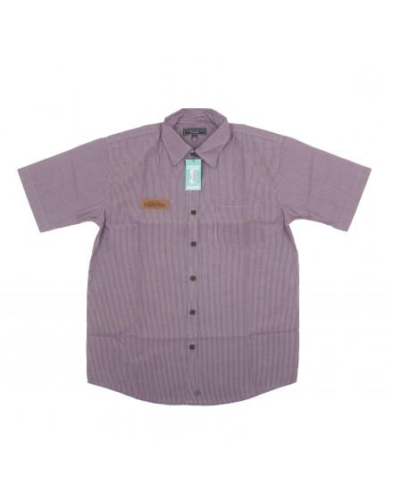 Purple Line Short Sleeve Shirt