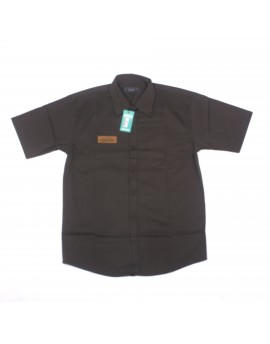 Pure Black Short Sleeve Shirt