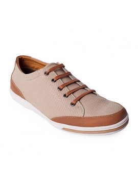 Lacerta Casual Shoes - Cream Tan