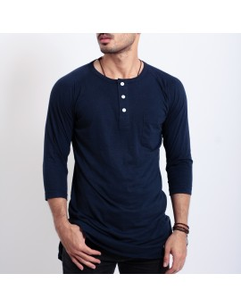Lazy Kurta - Navy