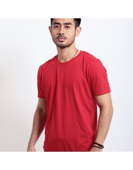Basic T Shirt Fibreeze - Red