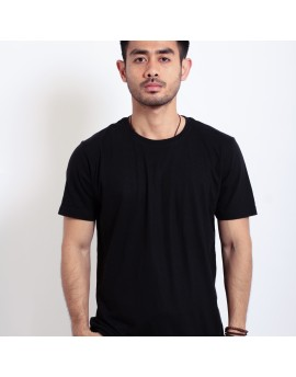 Basic T Shirt Fibreeze - Black