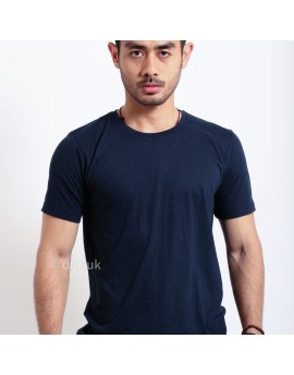 Basic T Shirt Fibreeze - Navy