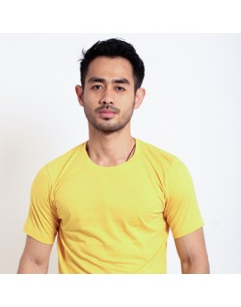 Basic T Shirt Fibreeze - Yellow
