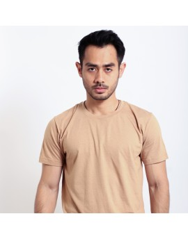 Basic T Shirt Fibreeze - Mocca