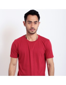 Basic T Shirt Fibreeze - Maroon