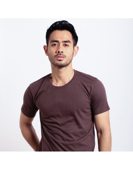 Basic T Shirt Fibreeze - Brown