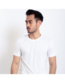 Basic T Shirt Fibreeze - White