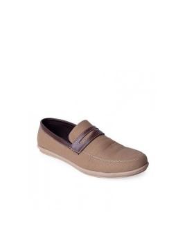 Sepatu Canvas Alpha Loafer Cream