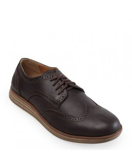 Snazzy Oxford Shoes - Brown