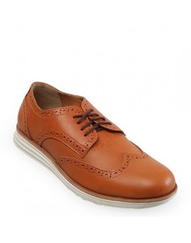 Snazzy Oxford Shoes - Tan