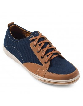 Desperado Casual Shoes - Navy Tan