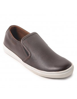 Arvo Slip Sneakers Shoes - Brown