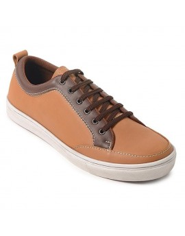 Tetra Sneakers Shoes - Tan Brown