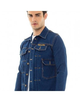 Indiana Denim Jacket - Dark Blue